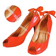 2PCS Transparent Silicone Material Bound Feet