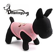 levne -lovely dog vzor terylene vesta pro domácí zvířata psy (různé barvy rozmanité velikosti)