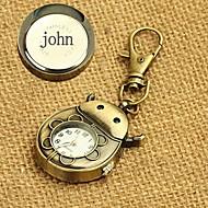 voordelige Gepersonaliseerde horloges-gepersonaliseerde gift legering horloge gegraveerd sleutel gesp