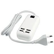 cheap -Chargers / Home Charger USB Charger EU Plug Multi Ports 4 USB Ports 3 A for