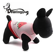 levne -droolingdog® krásný meloun vzorem 100% bavlna vesta pro domácí mazlíčky psy (různé barvy roztříděný velikosti)