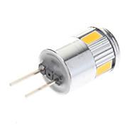 お買い得  LED スポットライト-G4 LEDスポットライト 6 SMD 5730 220 lm 温白色 クールホワイト AC 12 V 10個