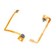 abordables Novedades-Botón lr 3dsxl cable flex cinta 2pcs parte 3ds xl reparación de reemplazo