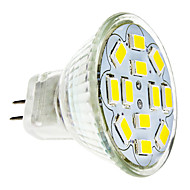 2W GU4 (MR11) LED-spotlampen 12 leds SMD 5730 Warm wit Koel wit 240-260lm 3500/6000K DC 12V