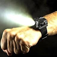 LED-Ficklampor LED LM 5 Läge Cree XP-G2 R5 Uppladdningsbar Vattentät Multifunktion Svart Silver