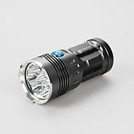 3 LED Flashlights / Torch LED 9600lm lm 3 Mode Cree XM-L T6 Rechargeable Waterproof Emergency for Camping/Hiking/Caving Everyday Use