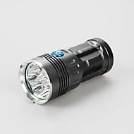お買い得  フラッシュライト/ランタン/ライト-3 LED懐中電灯 LED 9600lm 3 照明モード 防水 / 充電式 / 緊急 キャンプ / ハイキング / ケイビング / 日常使用 / 警察 / 軍隊 ブラック / グレー / ゴールデン