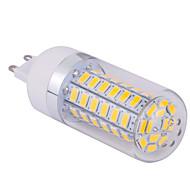 お買い得  LED コーン型電球-ywxlight®g9 5730smd 60led暖かい白いクールな白いled電球の光ledコーン電球の光シャンデリアの照明ac 85-265v