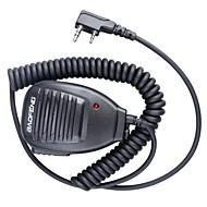 halpa -Baofeng 5R-mic ammatillinen laadukasta ainutlaatuinen muotoilu radiopuhelinsetti käsimikrofonilla