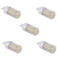 お買い得  LED コーン型電球-YWXLIGHT® 5個 10 W 1500 lm G9 LEDコーン型電球 T 60 LEDビーズ SMD 5730 温白色 / クールホワイト 220 V / 110 V