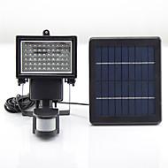 전원 Y-태양 (60)의 LED 태양 광 충전식 비상 조명 빛 캠핑 PIR 센서 야외 태양 램프 sl1-17을 주도