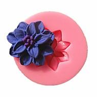 お買い得  キッチン用小物-装飾用具 フラワー パイ クッキー ケーキ シリコーン エコ 高品質 焦げ付き防止