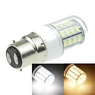 halpa LED-maissilamput-b22 led maissi valot t 40 smd 5630 1200-1600lm lämmin valkoinen kylmä valkoinen 3000-3500k 6000-6500k koristeellinen ac 220-240v