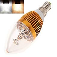 tanie Żarówki LED świeczki-350 lm E14 Żarówki LED świeczki Diody lED High Power LED Ciepła biel Zimna biel AC 85-265V