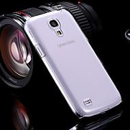 Назначение Кейс для  Samsung Galaxy Чехлы панели Прозрачный Задняя крышка Кейс для Сплошной цвет PC для SSamsung Galaxy S4 Mini