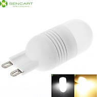 お買い得  LED コーン型電球-SENCART 1個 4 W 240-280 lm G9 LEDコーン型電球 T 12 LEDビーズ SMD 3020 装飾用 温白色 / クールホワイト 220-240 V / 110-130 V / RoHs