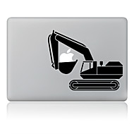 A kotrógép tervezés díszes bőr matrica MacBook Air / Pro / Pro Retina kijelzővel