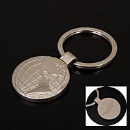 Gepersonaliseerde Gift Keychain - RVS - Lovers