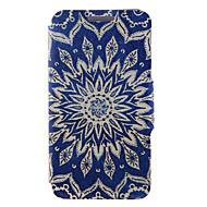 kinston® солнце цветочный узор полное тело пу крышка с подставкой для Huawei G510 / P7 / P8 / P8 чистым и Huawei Honor 6 / 6x / 6 плюс