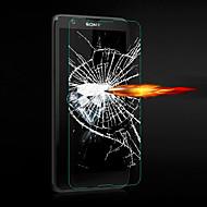 お買い得  スクリーンプロテクター-スクリーンプロテクター Sony のために Sony Xperia E4 強化ガラス 1枚 ハイディフィニション(HD)