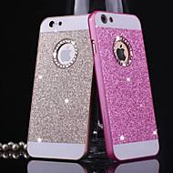 Назначение iPhone X iPhone 8 iPhone 8 Plus Кейс для iPhone 5 Чехлы панели Стразы Задняя крышка Кейс для Сияние и блеск Твердый Металл для