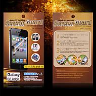 お買い得  Samsung 用スクリーンプロテクター-スクリーンプロテクター Samsung Galaxy のために S6 edge PET スクリーンプロテクター マット