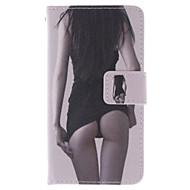 رخيصةأون -إلى نوكيا حالة محفظة / حامل البطاقات / مع حامل غطاء كامل الجسم غطاء امرآة مثيرة قاسي جلد اصطناعي Nokia Nokia Lumia 630