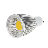 5w gu10 led spotlight mr16 1 cob 450-550lm warm wit koud wit 3000-3500k ac 100-240v
