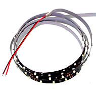 SENCART 1.2 M 90 3528 SMD Blanco Cortable/Regulable/Conectable/Adecuadas para Vehículos/Auto-Adhesivas 5 W Tiras LED Flexibles DC12 V