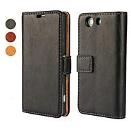 kristály felületén pu bőr teljes test esetében állvánnyal és kártya Sony Xperia mini Z3 (vegyes színes)