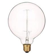 お買い得  LED ボール型電球-480 lm E26/E27 フィラメントタイプLED電球 1 LEDの 温白色 AC 220-240V