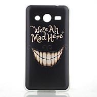 Недорогие Galaxy Core 2-Для Кейс для  Samsung Galaxy С узором Кейс для Задняя крышка Кейс для Мультяшная тематика TPU Samsung Core 2