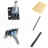 お買い得  Arduino 用アクセサリー-ロータリーエンコーダモジュールとArduinoのためのアクセサリー