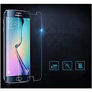olcso Samsung képernyővédők-Képernyővédő fólia Samsung Galaxy mert S6 edge Edzett üveg Kijelzővédő fólia Anti-ujjlenyomat