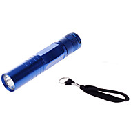 LED Flashlights / Torch LED 10-50 lm 1 Mode LED Mini Waterproof for Camping/Hiking/Caving Everyday Use Traveling Outdoor Batteries not