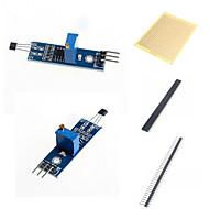 お買い得  Arduino 用アクセサリー-Arduinoのためのホールセンサモジュール、センサモジュールのスイッチおよび付属