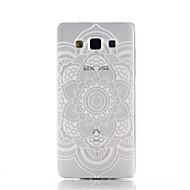 preiswerte Handyhüllen-Hülle Für Samsung Galaxy Samsung Galaxy Hülle Transparent Muster Rückseite Mandala Spezial Design Markenname Durchsichtig TPU für A3