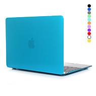 お買い得  -MacBook ケース のために 純色 クリア プラスチック Macbook