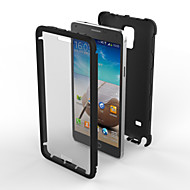 Für Samsung Galaxy Note Stoßresistent / Staubdicht Hülle Rückseitenabdeckung Hülle Panzer PC Samsung Note 4