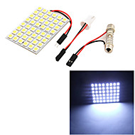 Недорогие Внешние огни для авто-SO.K T10 Автомобиль Лампы 8 W SMD 5050 500 lm 48 Внешние осветительные приборы