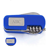 Gepersonaliseerde Gift Keychain - RVS - Glam