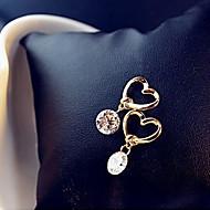 Недорогие $0.99 Модное ювелирное украшение-Жен. Серьги-слезки - Сердце Классический, Мода Золотой Назначение Для вечеринок Повседневные