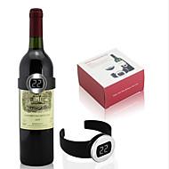 creatief ontwerp maatregel rode wijn automatisch de temperatuur wijn thermometer