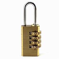 preiswerte Alles fürs Reisen-Mode Kupfer bequeme Gepäck / bag Schloss mit 4 Passwort