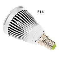 E14 GU10 E26/E27 Точечное LED освещение 1 светодиоды COB Тёплый белый Холодный белый 600-630lm 6000-6500K AC 85-265V