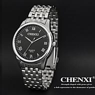 CHENXI® Muškarci Ručni satovi s mehanizmom za navijanje Kvarc Japanski kvarc Nehrđajući čelik Grupa Srebro Obala Crn