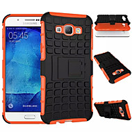 cheap Cases / Covers for Samsung-Case For Samsung Galaxy Samsung Galaxy Case Shockproof Back Cover Armor PC for A8 A7 A5 A3