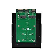 お買い得  -maiwoのUSB3.0 2×SATA to2x M.2(ngff)コンバータ·カード·インタフェース·カードkt005b