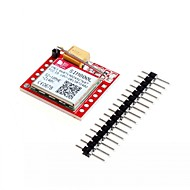 お買い得  Arduino 用アクセサリー-sim800lコアボードクワッドバンドネットワークミニgprs gsmブレークアウトモジュール