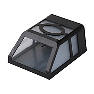 abordables Luces LED Solares-2 LED Blanco Cálido Recargable / Decorativa Batería
